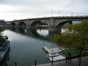London Bridge - Lake Havasu East Side View