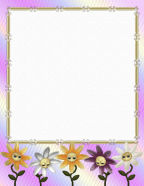 FREE Floral Themed Digital Stationery Paper Template Download in 3 different formats.